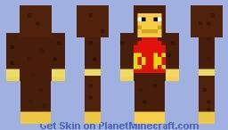 Donkey Kong [retro skin contest] Minecraft Skin