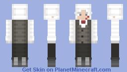 MoreWhiteHairedAnimeBoys • D.Grey-man • Minecraft Skin