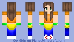ME IN 80S CLOTHING Minecraft Skin