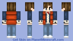 marty mcfly [50 SUBS WHAT] Minecraft Skin