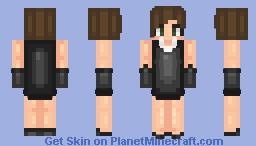 Audrey Hepburn {Retro Contest} || berrry Minecraft Skin