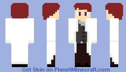 A scientist or teacher Minecraft Skin