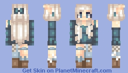 BrǐtBrǐtt~ The Elves Series | Ceren-Lumi OC Minecraft Skin