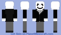 Doctor W.D. Gaster Minecraft Skin