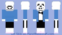 Sans Minecraft Skin