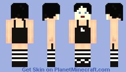 Amanda Palmer (Dresden Dolls Era) Minecraft Skin
