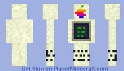 The 1977's Apple II Minecraft Skin