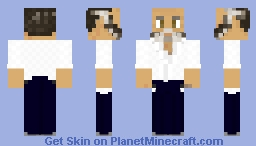 Martial Arts Master Minecraft Skin