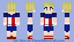 FrostIron - Captain America Dress Minecraft Skin