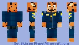 FEAR From DisneyPixars Inside Out Minecraft Skin - Minecraft epische hauser