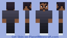 Childish Gambino / Donald Glover Minecraft Skin
