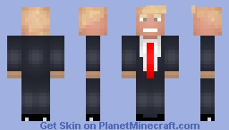 Donald Trump Minecraft