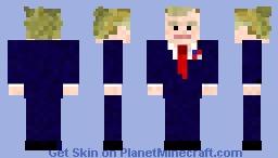 Donald Trump Minecraft Skin