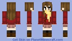 Kayo Hinazuki - Erased Minecraft