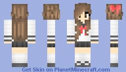 French Girl Minecraft Skin