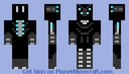 Future Dark Armor (Spider eyes) Minecraft Skin