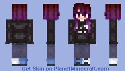 thing i made Minecraft Skin