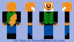 Foxtrot Minecraft Skin