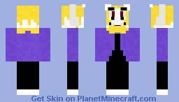 ASGORE (request by brodiebolt) Minecraft Skin