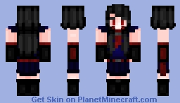 [ Requested ] > 𝓐𝓴𝓪𝓶𝒆 - 𝓐𝓴𝓪𝓶𝒆 𝓖𝓪 𝓚𝓲𝓵𝓵 | ✦ Stucky ✦ Minecraft Skin