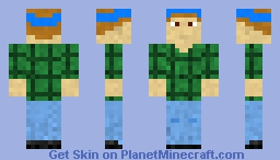 All I wanted was a pepsi - Mike Muir Minecraft Skin