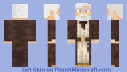Obi-Wan Kenobi (with ghost version in desc) Minecraft Skin