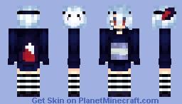 Heyyyy, i am alive :D // HUGE inspiration from IcarianPrince read desc. Minecraft Skin