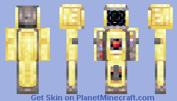 The Haunted Arcade Machine Minecraft Skin