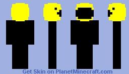 Pacman Retro Skin Contest Minecraft Skin
