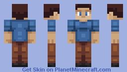 Quadral Steve Minecraft Skin