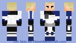 Captain Rex without helmet Minecraft Skin