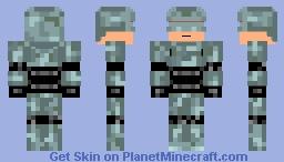 Robocop -Retro Skin Contest- Minecraft Skin