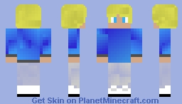 Blond haired guy Minecraft Skin