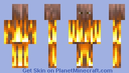FIRE SUIT Minecraft Skin