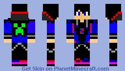 A first Skin Minecraft Skin