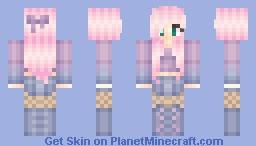 Pink pastel Minecraft Skin