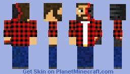 Wither Man Minecraft Skin