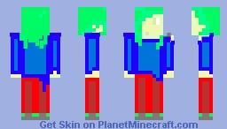 Wasabi Green Minecraft Skin