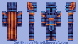 Shovel Knight (PBL/S16/W1) Minecraft Skin