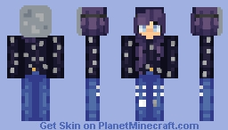 Something old, something new, something borrowed, something blue. Minecraft Skin