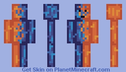 Water VS Fire -PBL S14/16 Wk1- Minecraft Skin