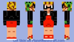 Mega Man - Rebel Roll (Ver. A) Minecraft Skin
