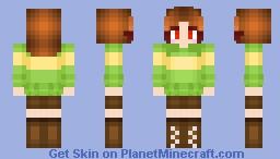 ~  Chara Dreemurr  ~ Minecraft Skin