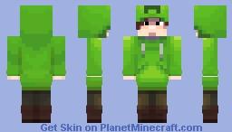 Creper Costume Minecraft Skin