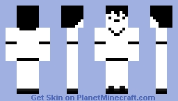 Domics (Black and white version) Minecraft Skin