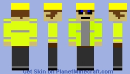 Building Worker Minecraft Skin