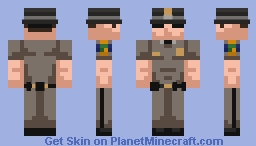 Florida Highway Patrol Trooper Minecraft Skin