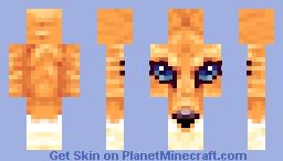 Foxface Minecraft Skin