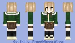 Chihiro Fujisaki (Danganronpa) Minecraft Skin
