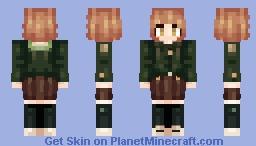 Danganronpa - Fujisaki Chihiro Minecraft Skin